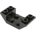 LEGO Black Slope 45° 4 x 2 Double Inverted with Open Center (4871)