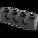 LEGO Black Technic Brick 1 x 4 with Holes (3701)