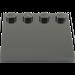 LEGO Black Tile 4 x 4 with Studs on Edge (6179)