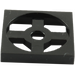 LEGO Black Turntable 2 x 2 Plate Base (3680)