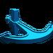 LEGO Blue Boat Anchor (2564)