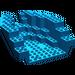 LEGO Blue Boat Stern 12 x 14 x 5 & 1/3 Hull Inside (6053)