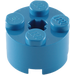 LEGO Blue Brick 2 x 2 Round (6143)