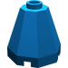 LEGO Blue Cone 2 x 2 x 1 & 2/3 Octagonal (6039)