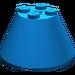 LEGO Blue Cone 4 x 4 x 2 with Axle Hole (3943)