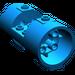 LEGO Blue Cylinder 3 x 6 x 2 2/3 Horizontal Hollow Center Studs (30360)