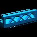 LEGO Blue Fence Lattice 1 x 4 x 1 (3633)