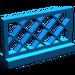LEGO Blue Fence Lattice 1 x 4 x 2 (3185)