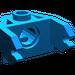 LEGO Blue Magnet Holder 2 x 3 (2607)