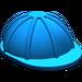 LEGO Blue Minifig Construction Helmet (3833)