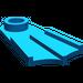 LEGO Blue Minifig Flipper