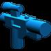 LEGO Blue Minifig Gun Short Blaster