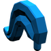 LEGO Blue Minifig Plume Medium (4502)