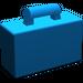 LEGO Blue Minifig Suitcase