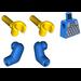 LEGO Blue Minifig Torso