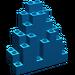 LEGO Blue Panel 3 x 8 x 7 Rock Triangular