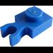 LEGO Blue Plate 1 x 1 with Vertical Clip (Thin 'U' Clip) (60897)
