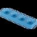 LEGO Bleu assiette 1 x 4 (3710)