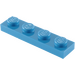LEGO Blue Plate 1 x 4 (3710)