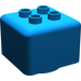 LEGO Blue Primo Brick 1 x 1 with 4 Duplo Studs (31007)