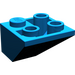 LEGO Blue Slope 2 x 2 (45°) Inverted (3676)