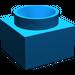 LEGO Blue Support 2 x 2 x 11 Solid Pillar Base (6168)