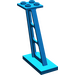 LEGO Blue Support 2 x 4 x 5 Stanchion Inclined with Thick Supports (4476)