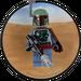 LEGO Boba Fett Magnet (850643)