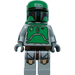 LEGO Boba Fett Minifigure (Cloud City Outfit with Printed Arms & Legs)