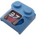 """LEGO Bonnet 2 x 2 x 2/3 with """"37"""" without Curved End (41855)"""