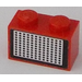 LEGO Brick 1 x 2 with Grille Sticker (3004)