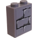LEGO Brick 1 x 2 x 2 with Bricks Sticker with Inside Stud Holder (3245)