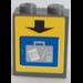 LEGO Brick 1 x 2 x 2 with Sticker from Set 3182 (3245)