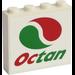 LEGO Brick 1 x 4 x 3 with Logo Octan Sticker (49311)