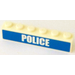 LEGO Brick 1 x 6 with Police Sticker (3009)