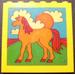 LEGO Brick 1 x 6 x 5 with Horse Sticker (3754)
