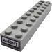 """LEGO Brick 2 x 10 with """"AG60117"""" Sticker (3006)"""