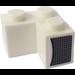 LEGO Brick 2 x 2 Corner with Airvents right Sticker (2357)
