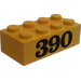 LEGO Brick 2 x 4 with 390 (3001)