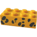 LEGO Brick 2 x 4 with Animal Spots (3001)