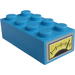 LEGO Brick 2 x 4 with Gauge Sticker (3001)