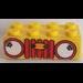 LEGO Brick 2 x 4 with Sticker from Set 338 / 128 (3001)