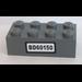 LEGO Brick 2 x 4 with Sticker from Set 60150 (3001)