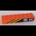 LEGO Brick 2 x 8 with Sticker from Set 6520 (3007)