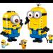 LEGO Brick-built Minions and their Lair Set 75551