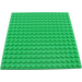 LEGO Bright Green Plate 16 x 16 with Underside Ribs (91405)