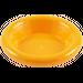 LEGO Bright Light Orange Minifig Dinner Plate (6256)