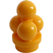 LEGO Bright Light Orange Minifig Ice Cream Scoops (6254)