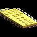 LEGO Bright Light Orange Wing 4 x 9 without Stud Notches