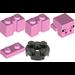 LEGO Bright Pink Baby Minecraft Pig